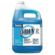 Dawn Dishwashing Detergent, 1 gal, Original, PK4, Blue