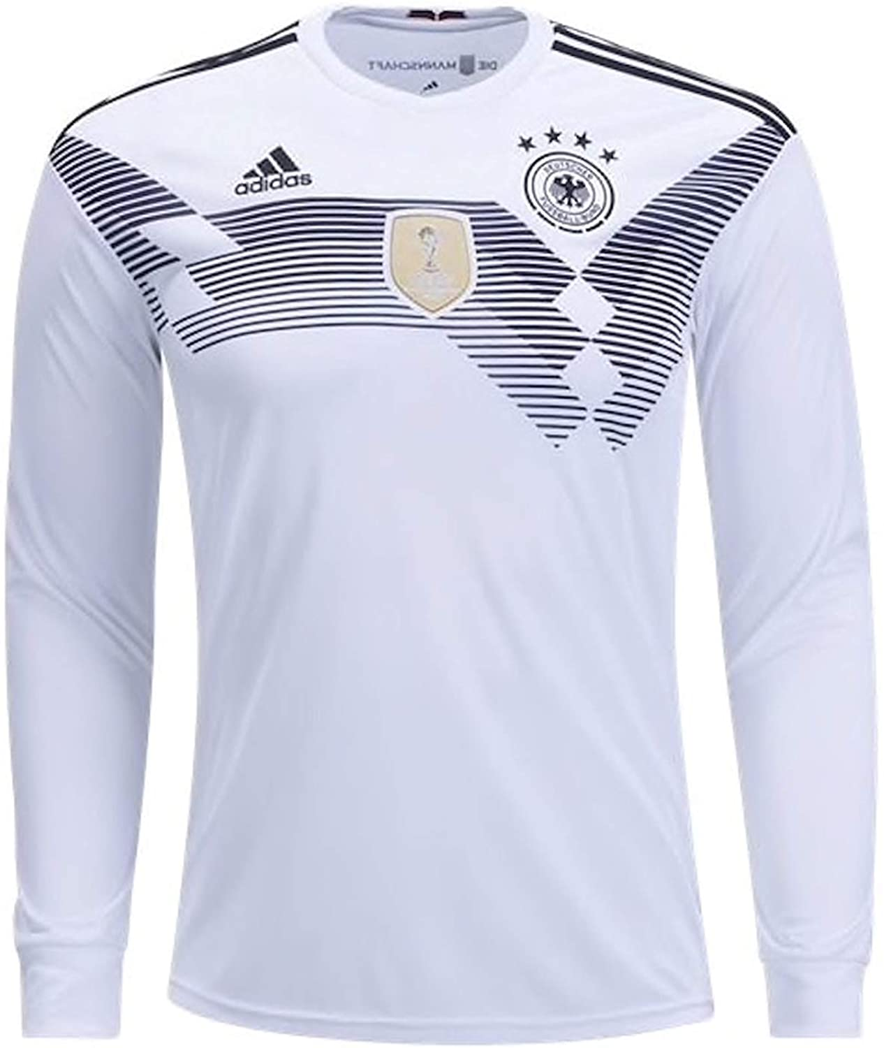 adidas Men's Soccer Germany Home Long Sleeve Jersey