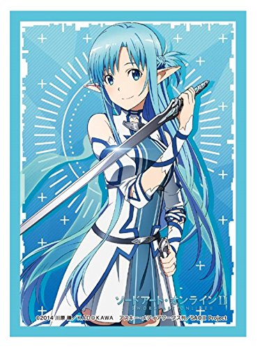 Sword Art Online II Asuna Card Game Character Sleeves Collection HG Vol.809 SAO 2 ALfheim Online ALO Yuuki Anime Berserk Healer Girl High Grade by Bushiroad