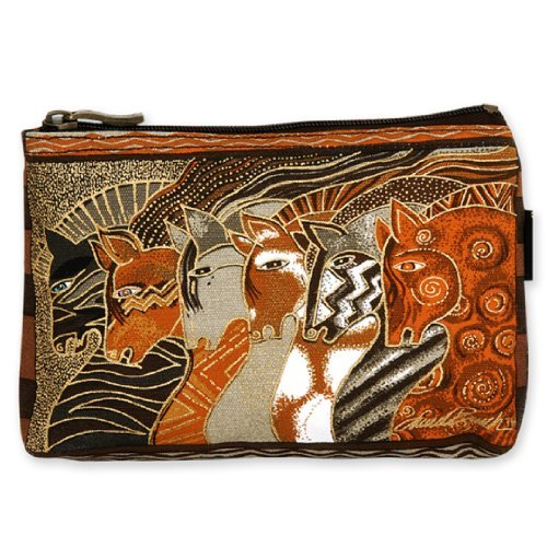 Laurel Burch Mythical Horses Cosmetic Purse (Brown Horse - Laurel Burch Mythical Horses