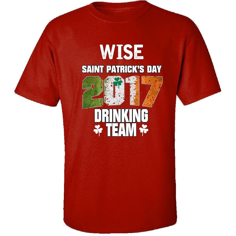 Wise Irish St Patricks Day 2017 Drinking Team - Adult Shirt