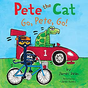 Pete the Cat: Go, Pete, Go! Audiobook