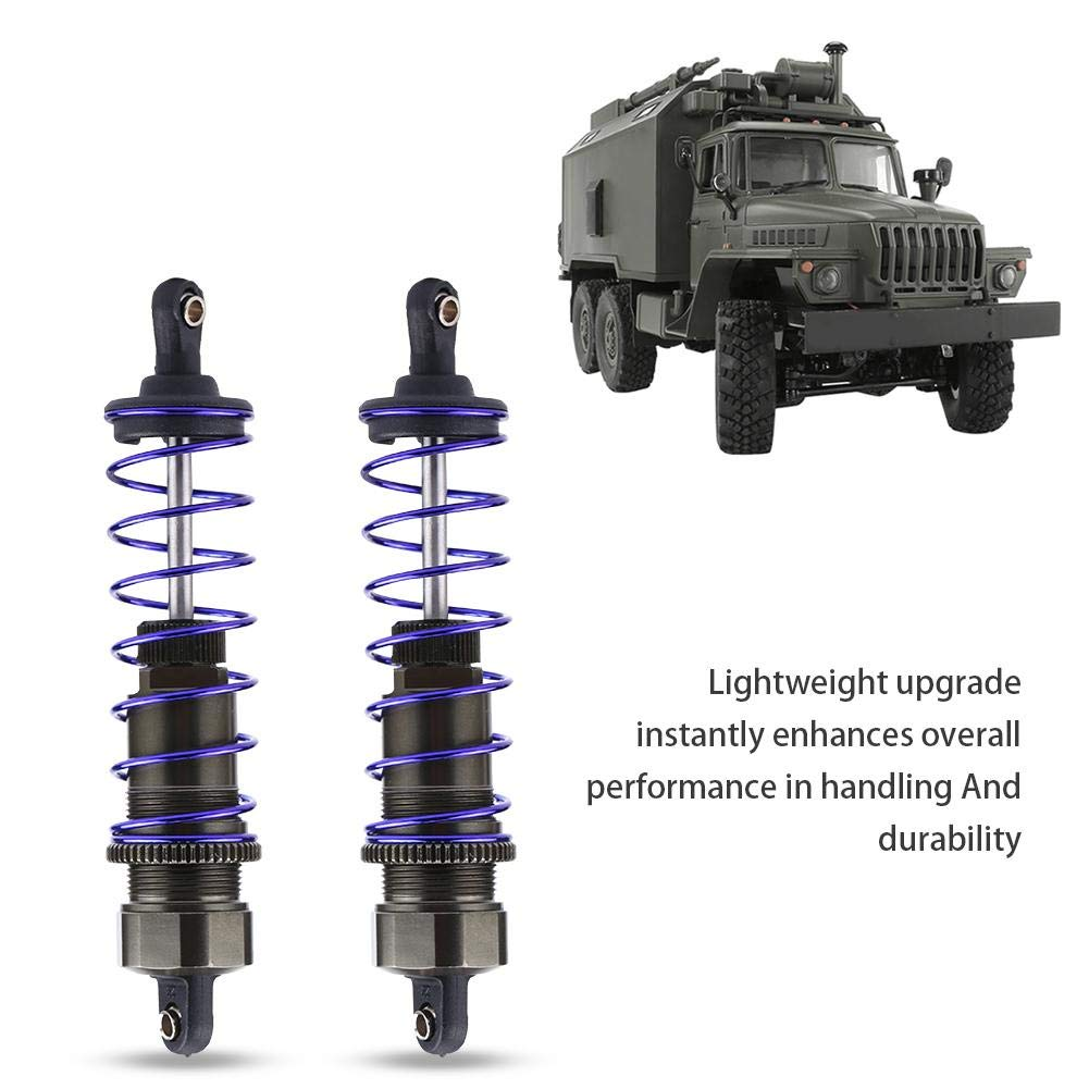 2 Pcs Aluminum Alloy Adjustable Shock Damper for 1//10 Remote Control Off-road Car Truck Accessory Parts RC Car Shock Absorber