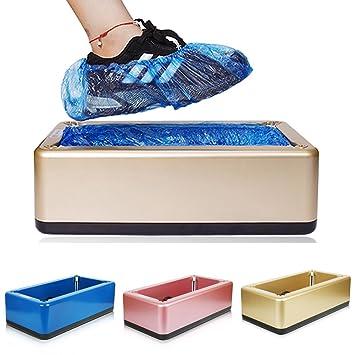 cenblue automática zapatos para máquina para oficina en casa - Fibra de Carbono ABS Material Acero Shell dispensador de Marco Cubierta para zapatos: ...