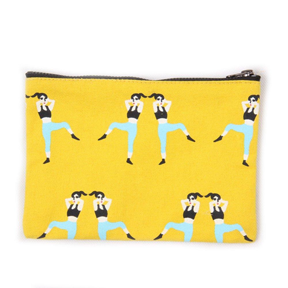 Lacheln レディース  Yellow Aerobics B06Y2XZ68W