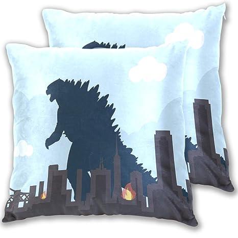 Amazon.com: Lucase Leon Alex Godzilla - Juego de fundas de ...