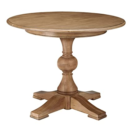 Amazoncom Ethan Allen Cooper Round Pedestal Dining Table - 36 diameter dining table