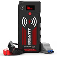 Beatit G18 QDSP 2000Amp Peak 12V Portable Jump Starter With Wireless Charger Cables & 21000mAh Power Bank