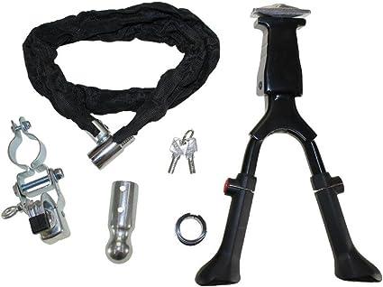 CMX® Bicicleta Set II – Candado para bicicleta + patilla doble (+ ...