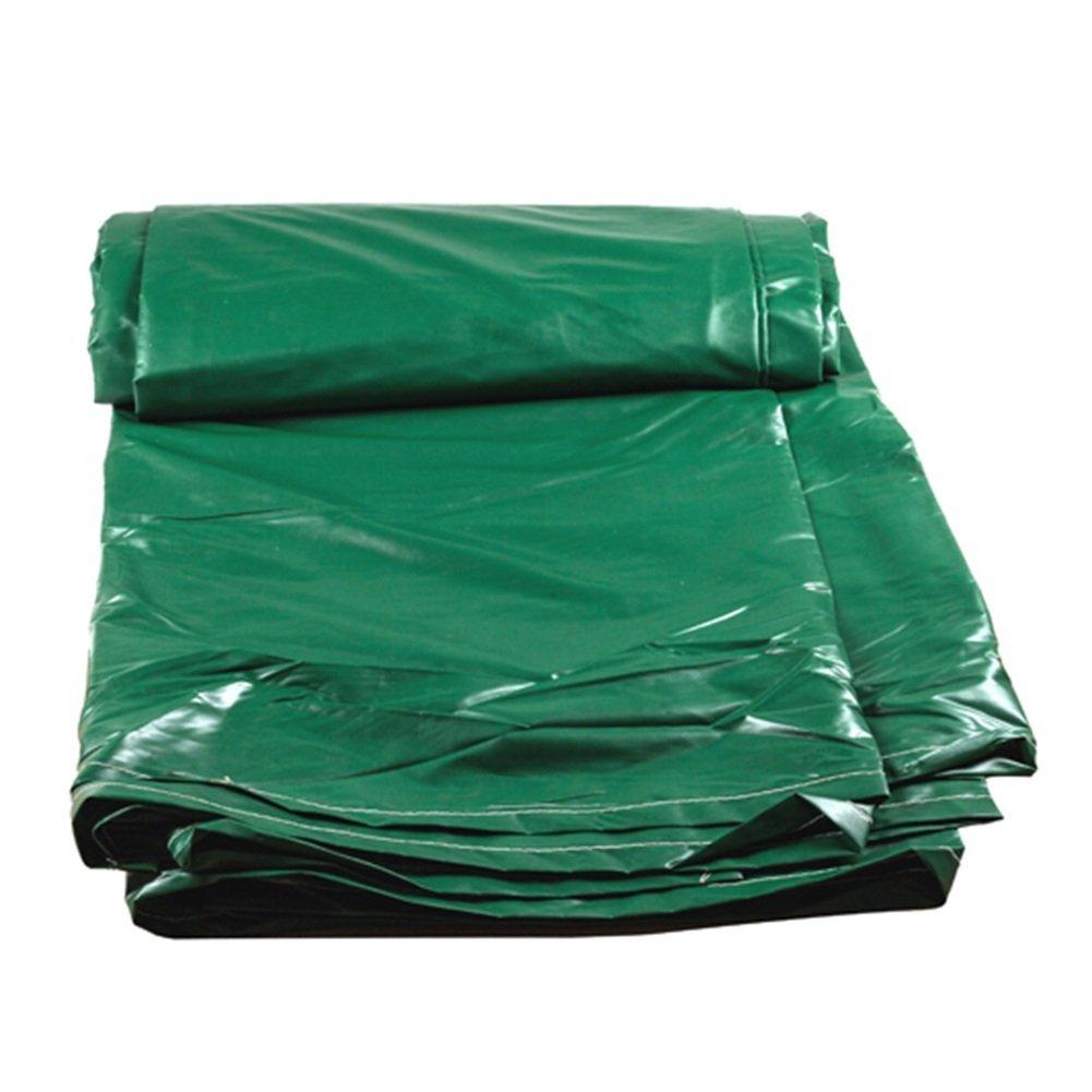 Green 6X8M 2BRNEBN Outdoor Tent Tarpaulin Outdoor Waterproof Tarpaulin DoubleSided MoistureProof Cargo dustproof Cloth high Temperature AntiAging