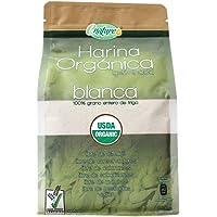 Enature Harina Orgánica Germinada Blanca de Trigo, 907 g