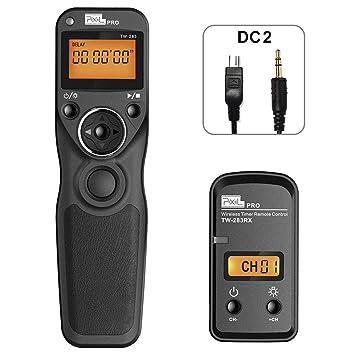 PIXEL Mando a Distancia Disparador inalámbrico TW-283/DC2 ...
