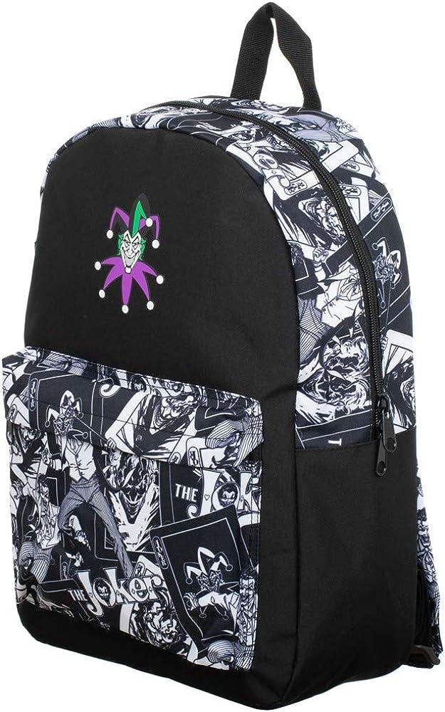 Vintage Comic Book Character Joker Backpack
