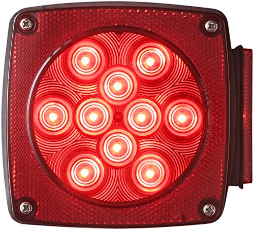 - Optronics STL6RS Red Lens LED Combination Tail Light for Passenger Side