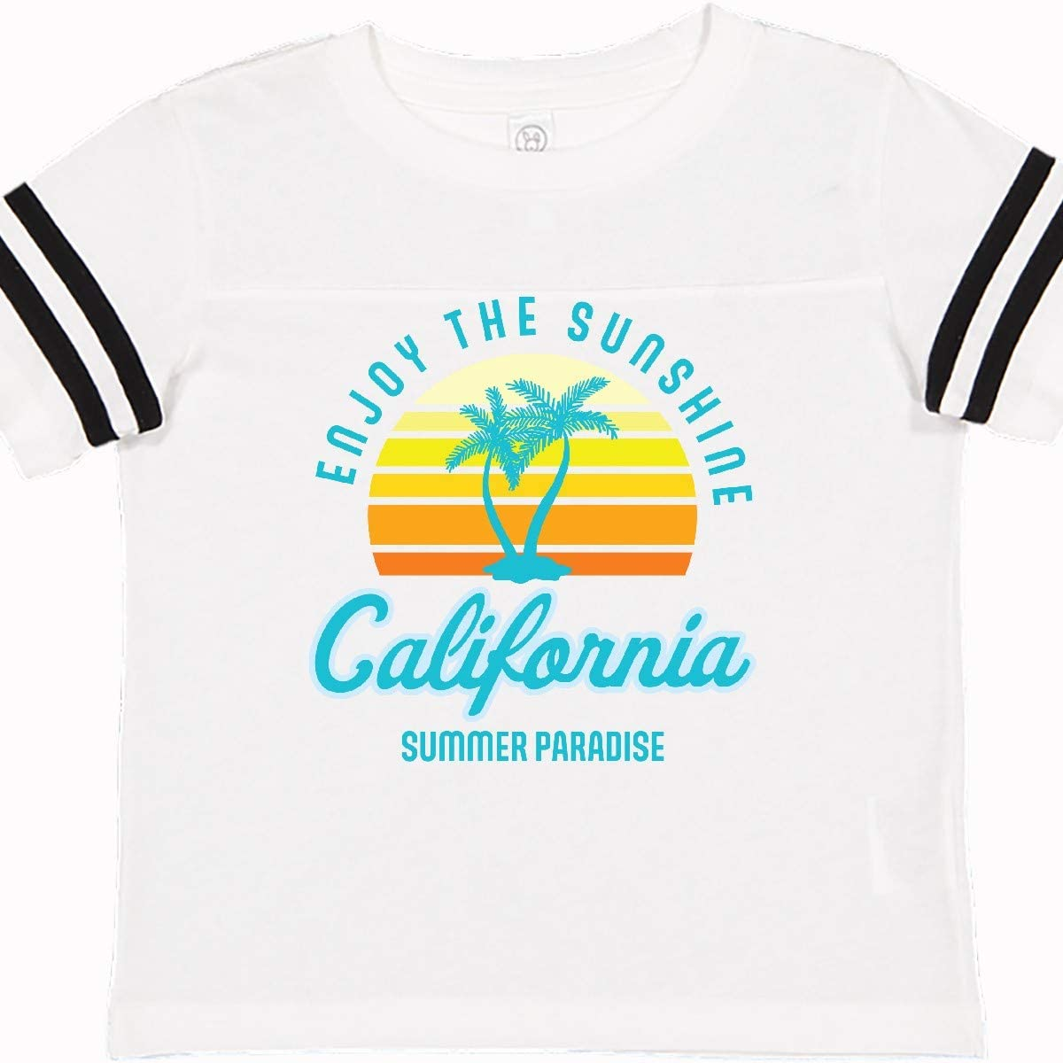 inktastic Enjoy The Sunshine California Summer Paradise Toddler T-Shirt