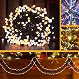 Kivis LED Globe Lights, 10ft 400Led String lights For Wedding Garden Party Home Decor Indoor - Waterproof (Warm-White)