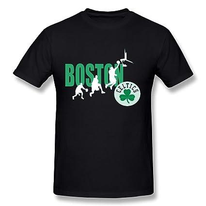 hsuail camiseta de hombre Boston Celtics