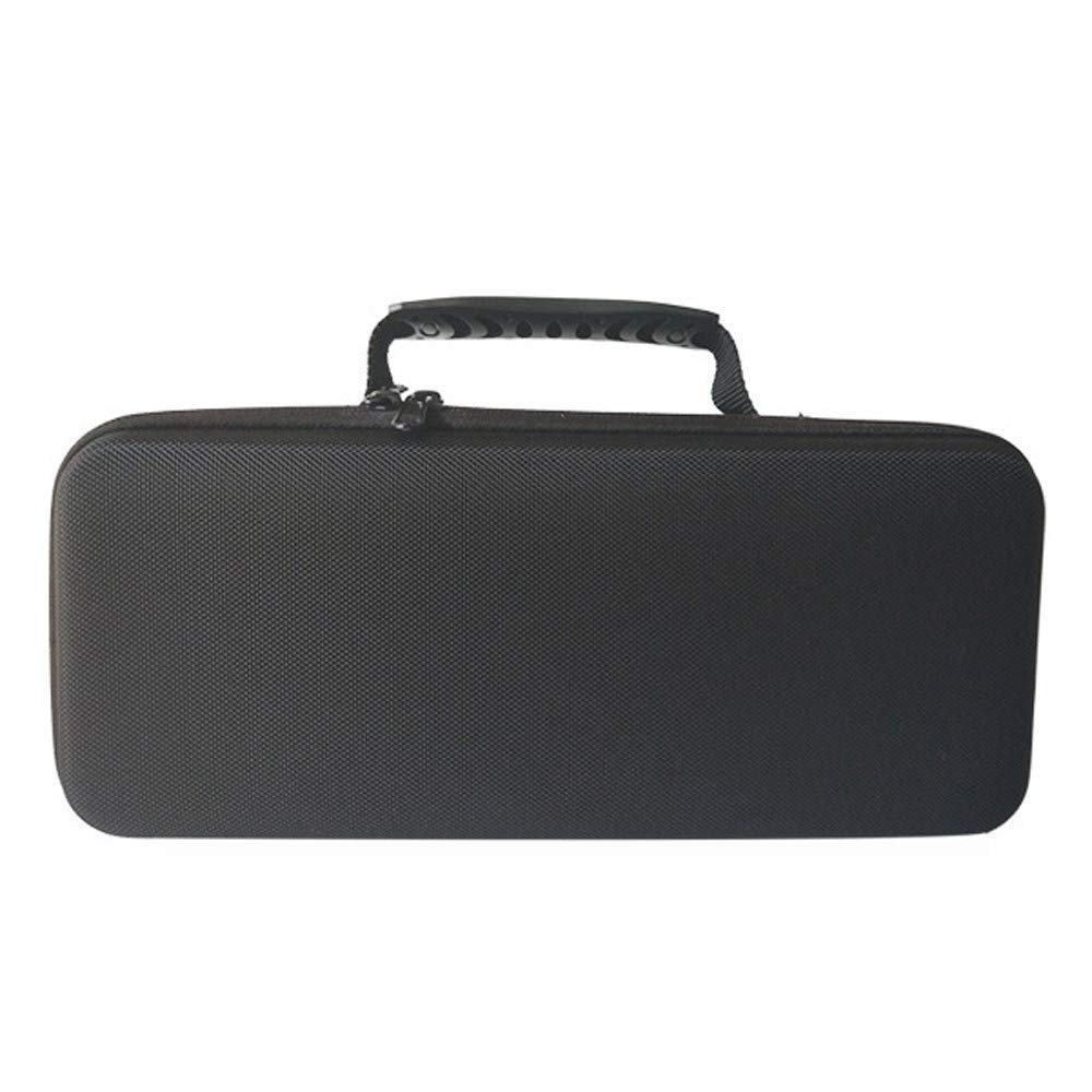 Zhaowei 防水ポータブルバッグ 両面ジッパー ハンドバッグ 収納キャリーケース Osmo Mobile 2用 330x150x90mm ブラック Zhaowei B07P96JX6C  ブラック