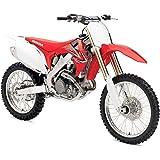 Orange Cycle Parts Die-Cast Replica Toy Red 1:12 Scale Model Honda CRF 450R Dirt Bike by NewRay 57873