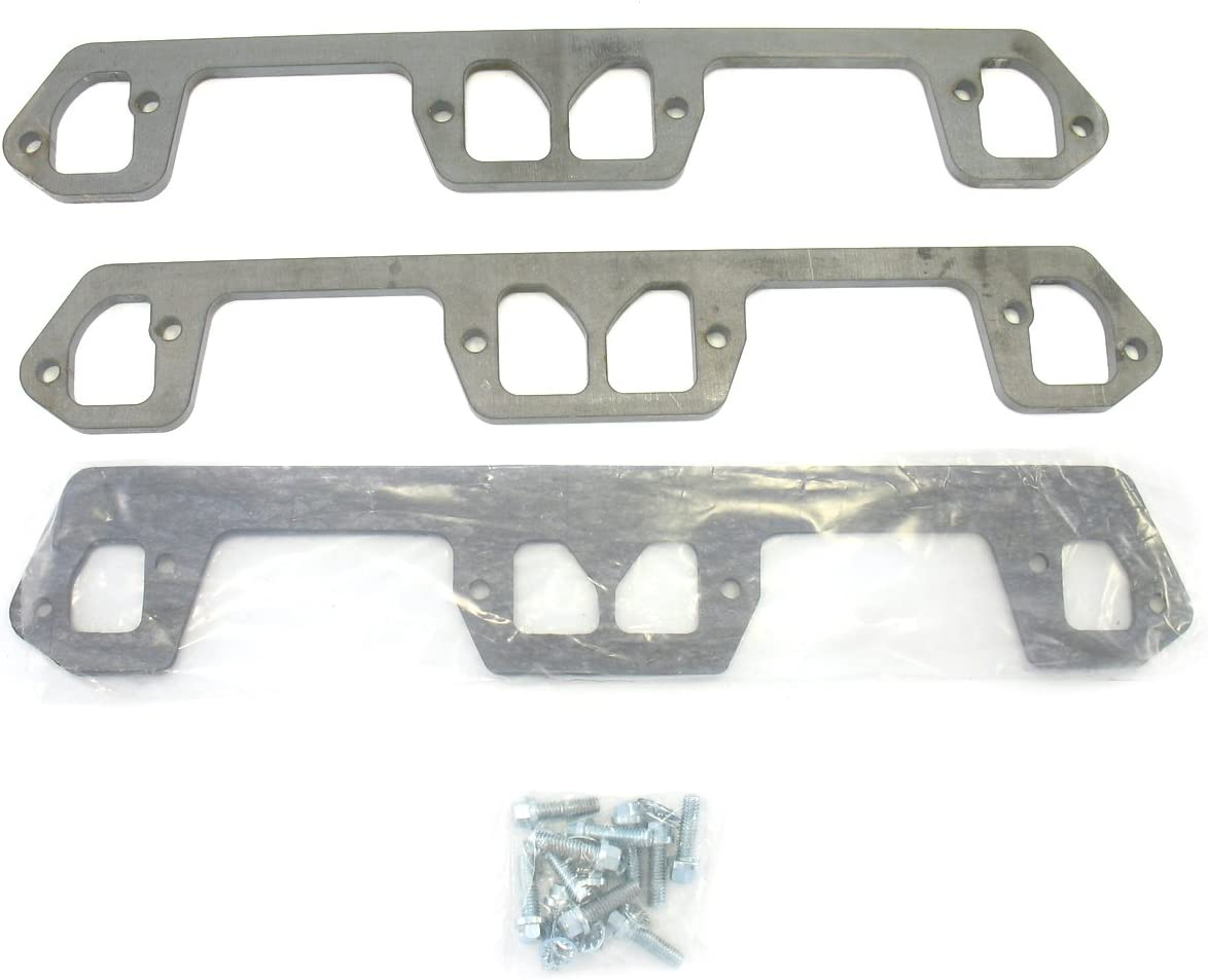Patriot Exhaust H7894 Rectangle Header Flange for Small Block Chevy