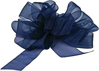 "product image for Offray Berwick LLC 427699 Berwick Simply Sheer Asiana Ribbon -1-1/2"" W X 25 yd - Royal Ribbon"