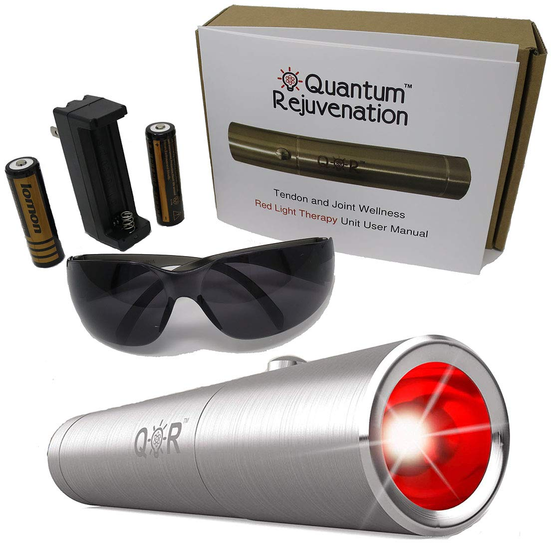 Quantum Rejuvenation Introductory Sale – Red Light Therapy Device – FDA Registered Advanced Pain Relief – Joint Muscle Reliever – Medical Grade