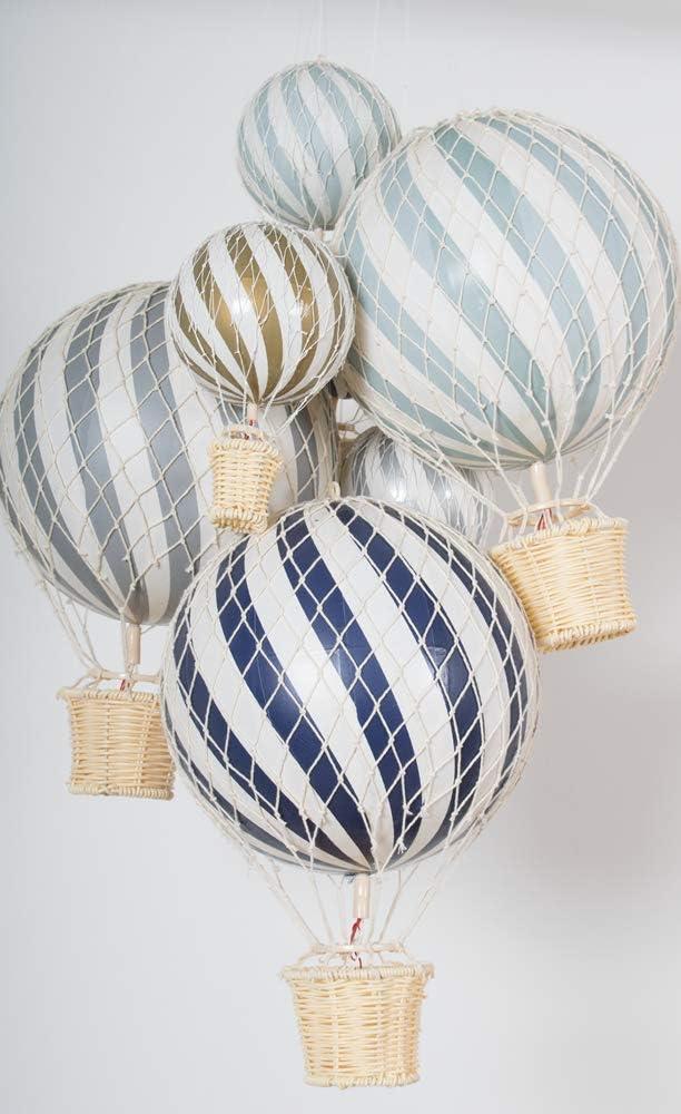 Design danois Filibabba/® Petit ballon gonflable 10 cm D/écoration pour chambre de b/éb/é et chambre denfant