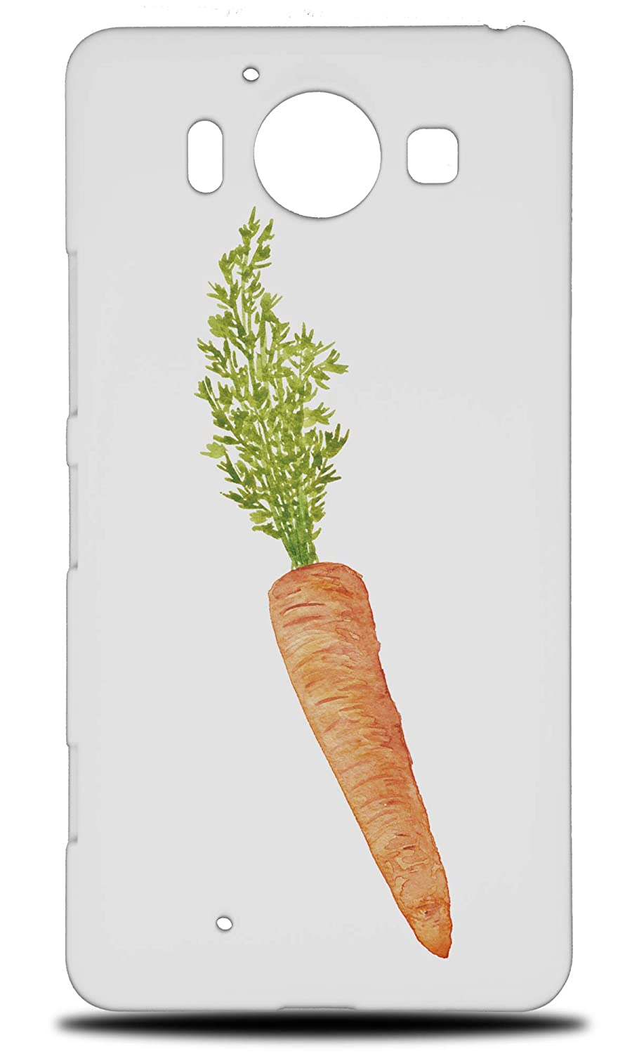 Amazon com: Watercolor Carrot Vegetable 1 Hard Phone Case