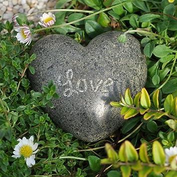 Miniature Fairy Garden Small Stone Heart