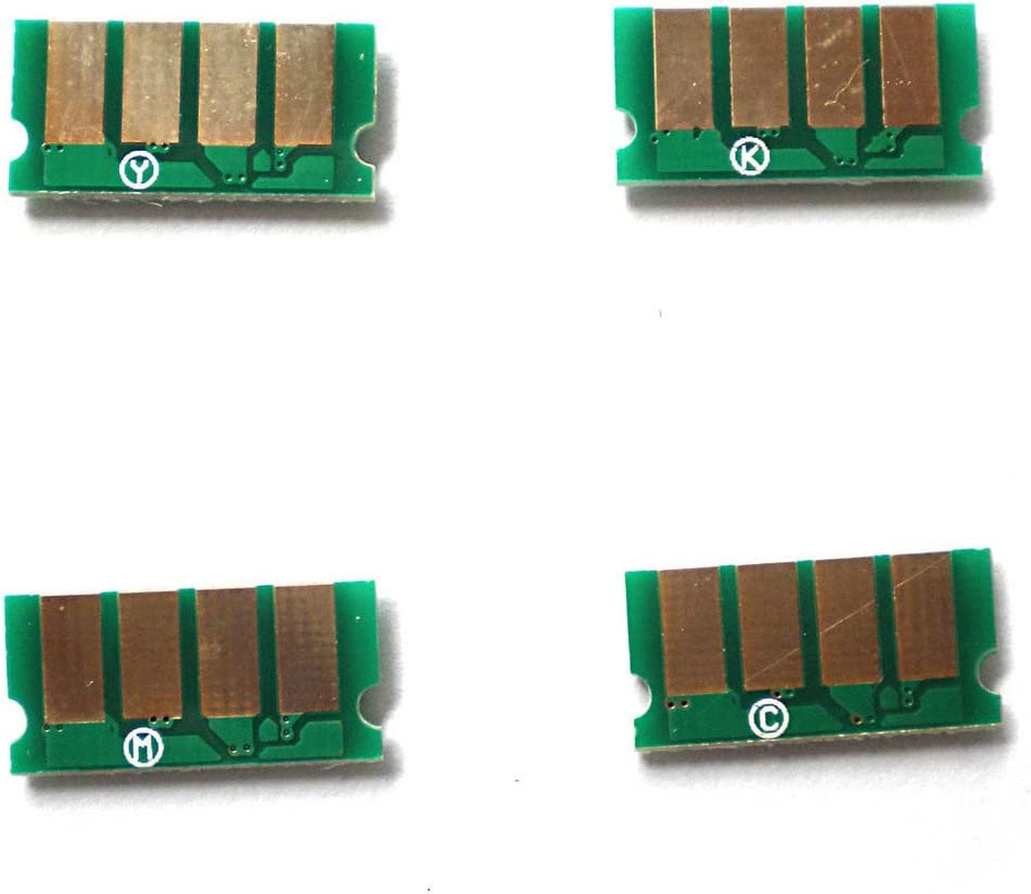 Amazon Com 4pcs Toner Cartridge Reset Chip For Ricoh Aficio Sp C220 C221 C222 Office Products