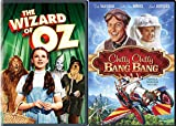 Musical Family Classics The Wizard of Oz & Chitty Chitty Bang Bang DVD Set Movie Bundle Double Feature
