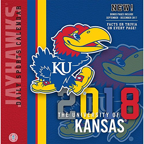 2018 Kansas Jayhawks Desk Calendar (Kansas University Desk)