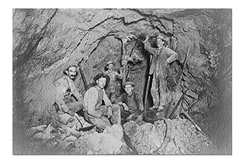 Coeur Dalene  Idaho   Chance Mine Lead Mining   Vintage Photograph  20X30 Premium 1000 Piece Jigsaw Puzzle  Made In Usa