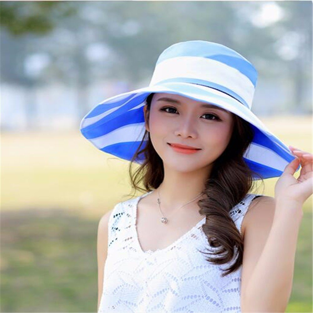 41e156d05f8 Amazon.com  RangYR Women Hat Summer Fall Sun Hat Outdoor Cycling Sun Hat  Cover Face Electric Car Foldable Wide Hat Sun Hat Pink  Sports   Outdoors