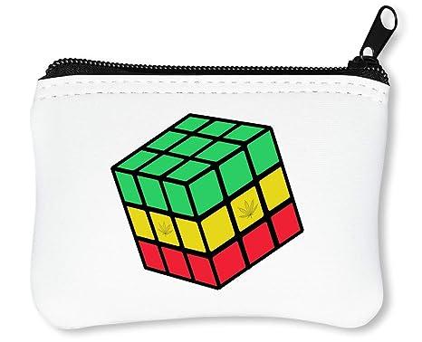 RubikS Cube Rastafari Rusted Edge Styled Billetera con ...