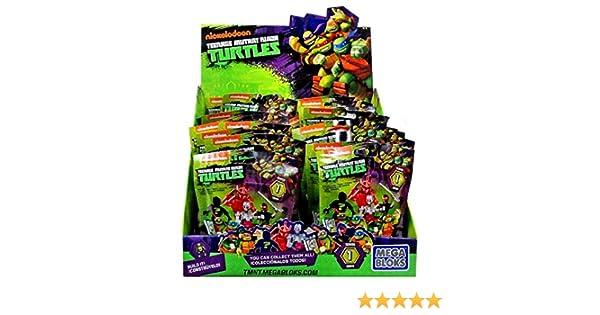 Mega Bloks Teenage Mutant Ninja Turtles TMNT Series 1 Mystery Box(Assorted Series)