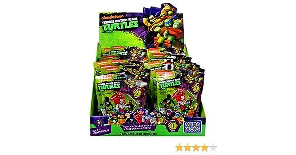 Tortugas Ninja - Sobre sorpresa (Mega Bloks DMX21), 1 unidad [modelos surtidos]