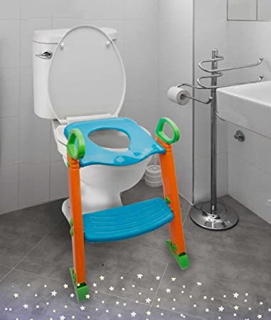 Amazoncom Potty Toilet Seat With Step Stool Ladder 3 In 1