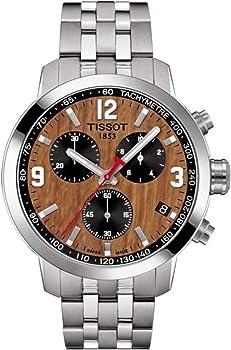 Tissot PRC 200 Basketball Brown Dial Men's Chronograph Watch