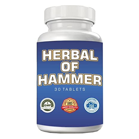 Buy Herbal Hammer - 30 Tablets Online at Low Prices in India
