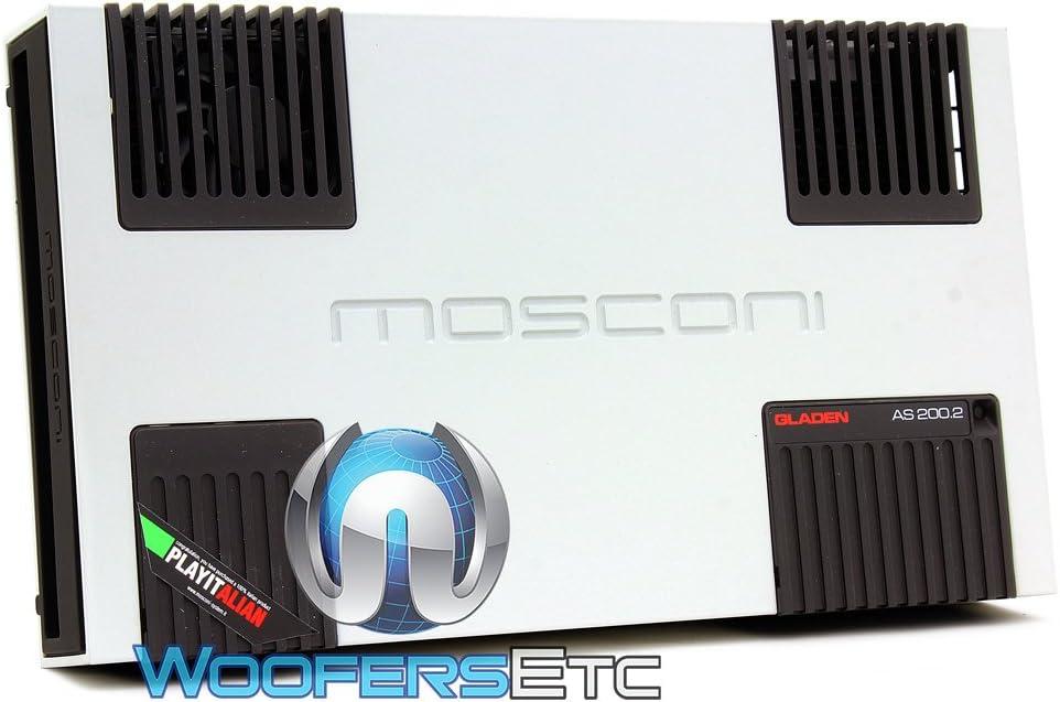 Mequiars Mosconi - Amplificador para coche (200,2 W): Amazon.es: Electrónica