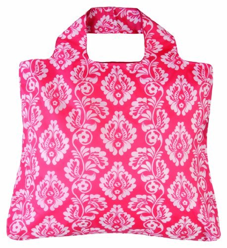 Envirosax Damask Red Sunkissed Reusable Shopping Bag