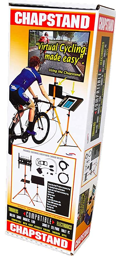 Amazon com : CHAPSTAND Indoor Cycling Kit Compatible with Zwift
