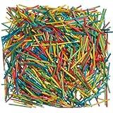 Fred Aldous - Palitos de madera tamaño cerilla (1000 unidades), colores variados
