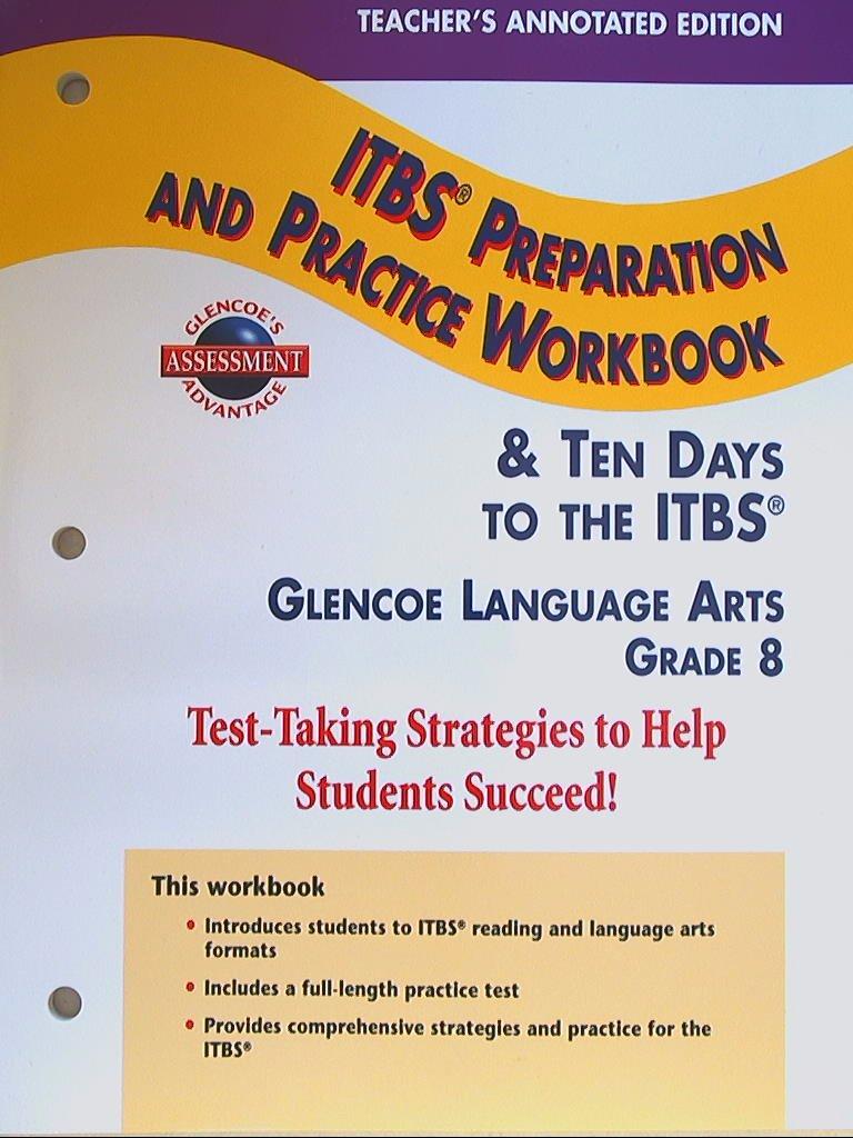 ITBS Preparation & Practice Workbook, Grade 8, Teacher's Annotated ...