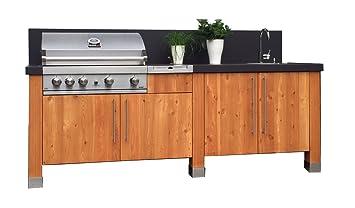 Outdoorküche Garten Edelstahl Reinigen : Outdoorküche außenküchen amazon garten