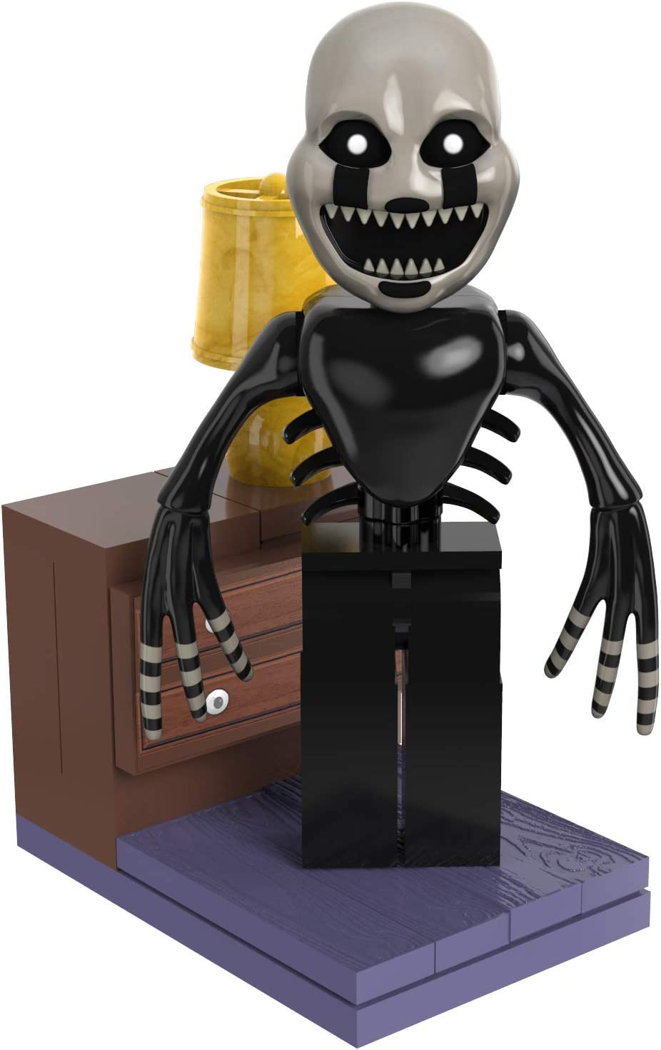 McFarlane Toys Five Nights at Freddy's Left Hall with Nightmarionne Micro Set