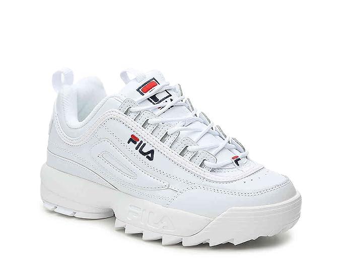 Baskets Disruptor Fila Décontractées Femme Low Chaussures Blanc 5 Ii UGpVqSMz