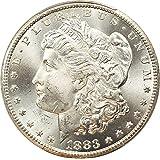 1883 CC Morgan Dollars Dollar MS65 PCGS