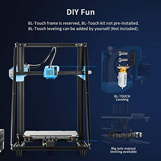 Impresora 3D Creality CR 10 V2, Unidad Extrusora Totalmente ...